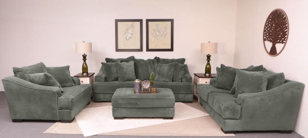 Monterey Grey 4-Piece Livingroom (5024)