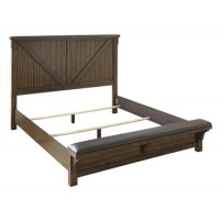 Lakeleigh King/California King Upholstered Bench Footboard