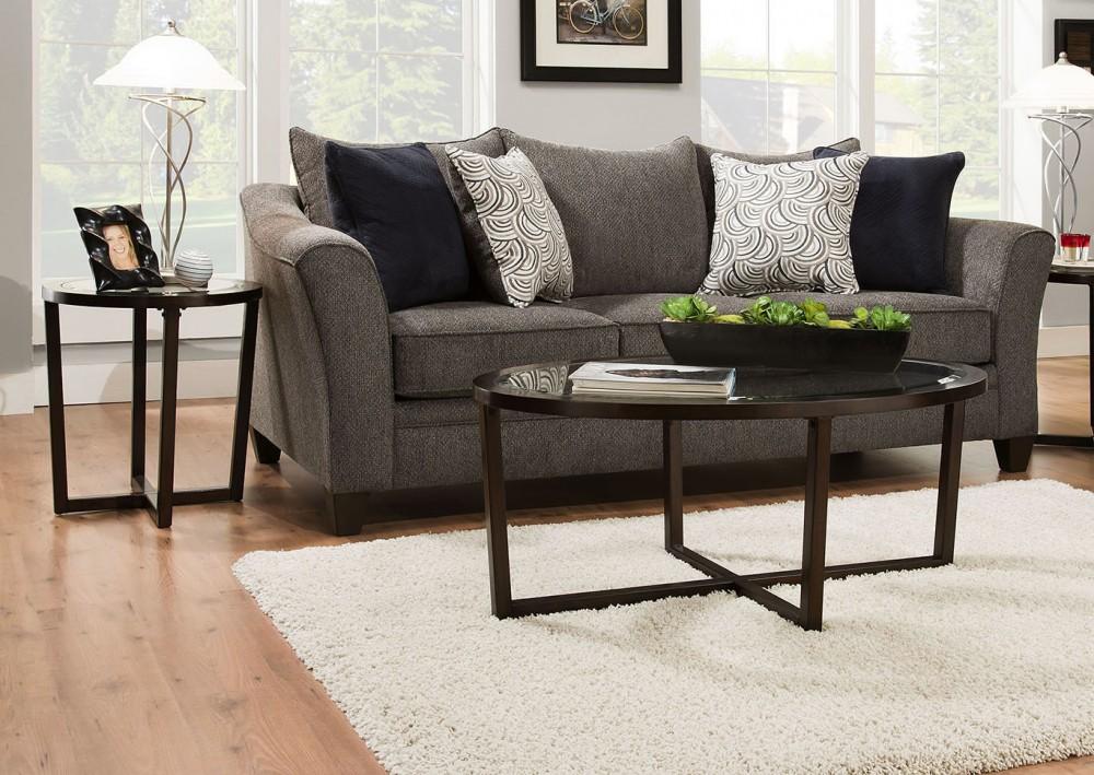 Albany Pewter Sofa
