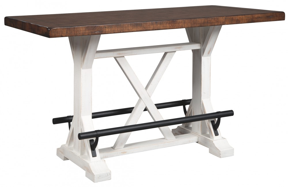 Valebeck - Multi - RECT Dining Room Counter Table