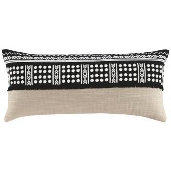 Mateja - Black/Natural - Pillow