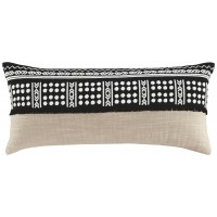 Mateja - Black/Natural - Pillow