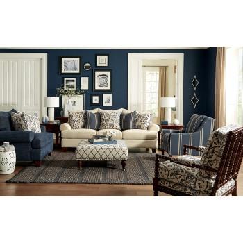 Feeling Blue Sofa Group