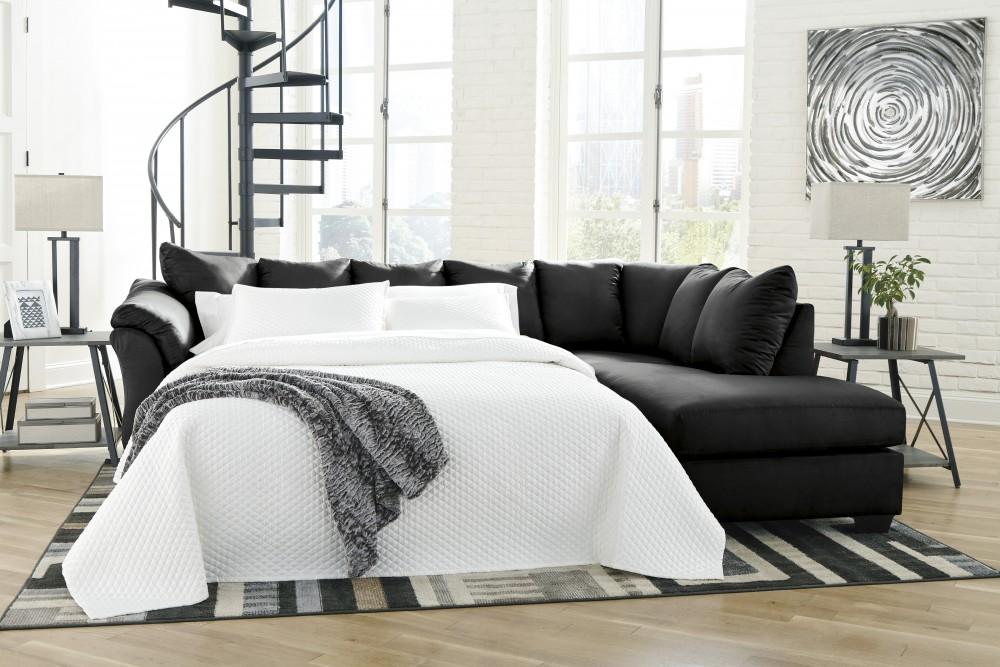 Darcy Left-Arm Facing Full Sofa Sleeper