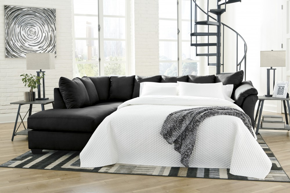 Darcy Right-Arm Facing Full Sofa Sleeper