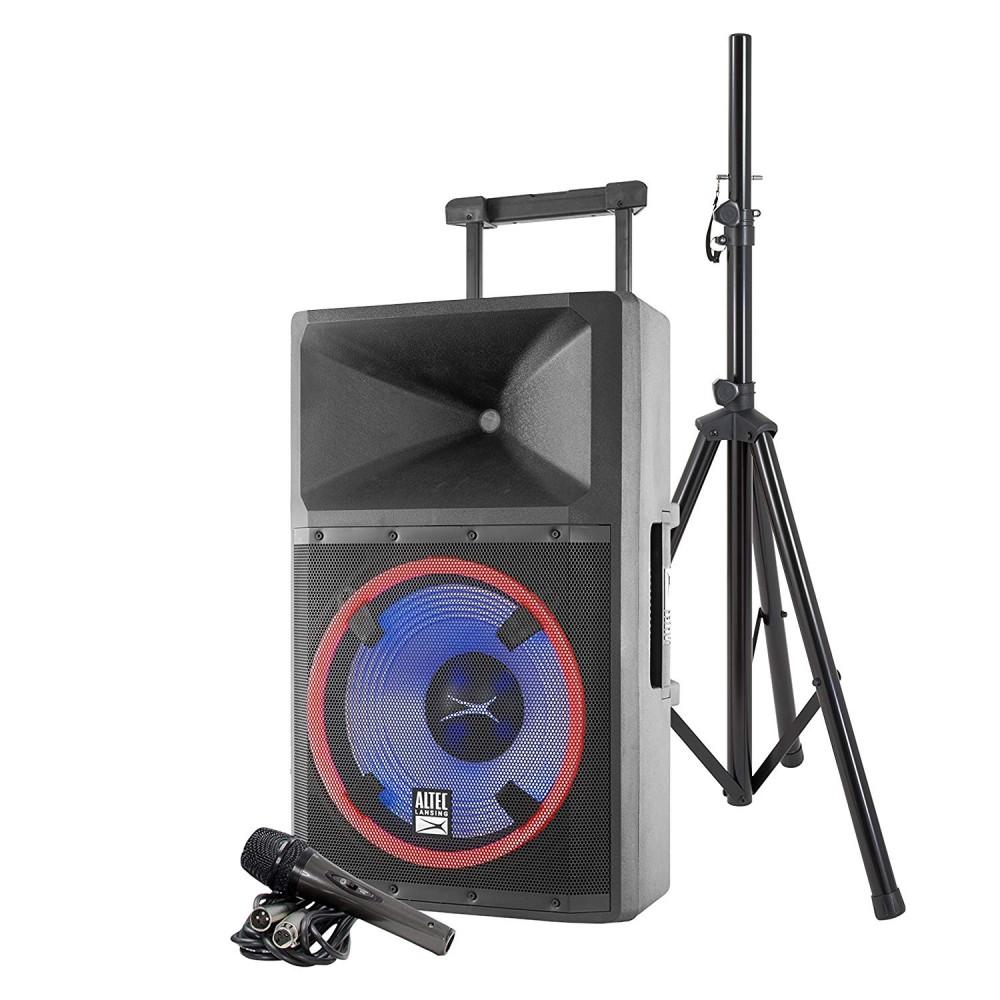 Altec 2200 Peak Watt Speaker with Party Lights and Built in Media Player