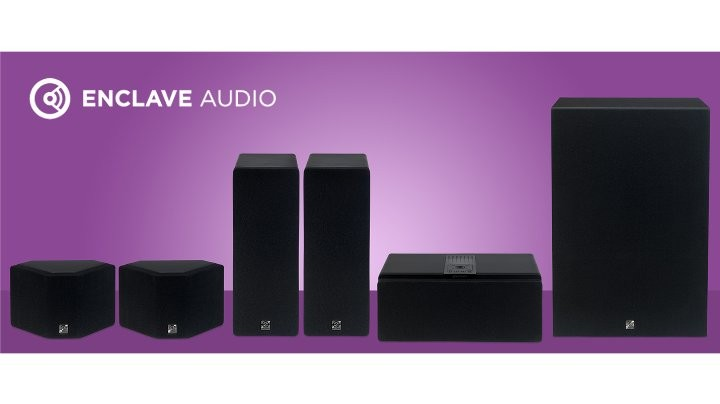 Enclave CineHome HD 5.1 Wire-Free Home Theater