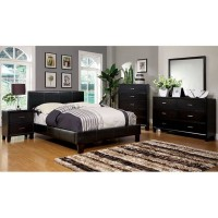 Queen Espresso Brown Bed frame and Queen Ortho Mattress Set