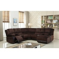 Two Tone Reclining Sectional