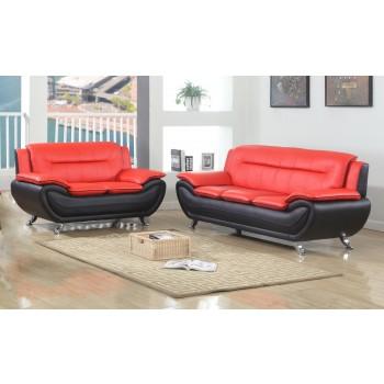 Black & Red Sofa & Love