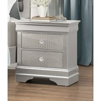 Abel Night Stand Gray