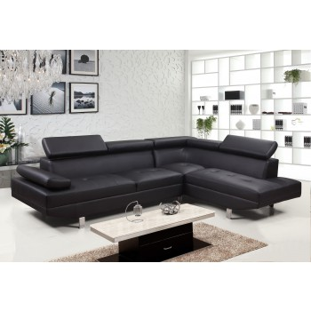 Artiania Black Sectional