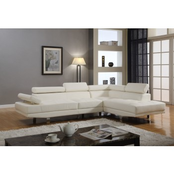 Artiania White Sectional