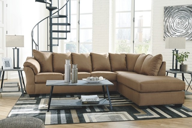 Darcy- Mocha Sofa Chaise Sectional