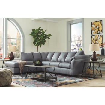 Darcy- Steel Sofa Chaise Sectional