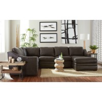 Sedona Leather Sectional