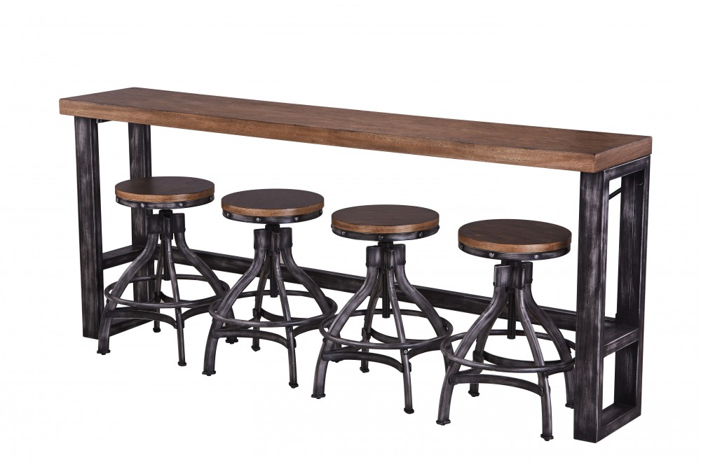 Sofa Bar Table 7326 40 Accessories Midwest Furniture Liquidators