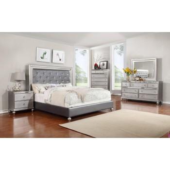 LIFESTYLE BED ROOM - QUEEN POSTER BED, DRESSER, MIRROR & NIGHTSTAND