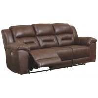Stoneland - Chocolate - Reclining Power Sofa