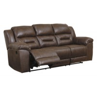 Stoneland - Chocolate - Reclining Sofa