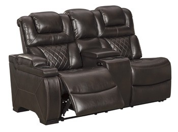 Warnerton Left-Arm Facing Power Reclining Loveseat with Console