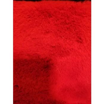 Faux Rabbit Fur Red