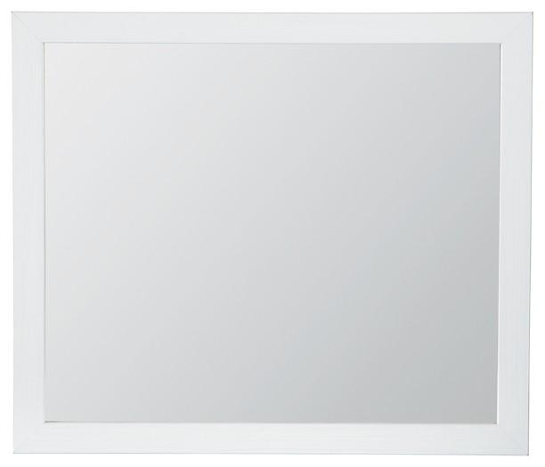 Jallory - White - Bedroom Mirror