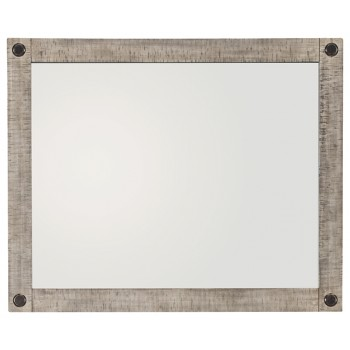 Naydell - Rustic Gray - Bedroom Mirror