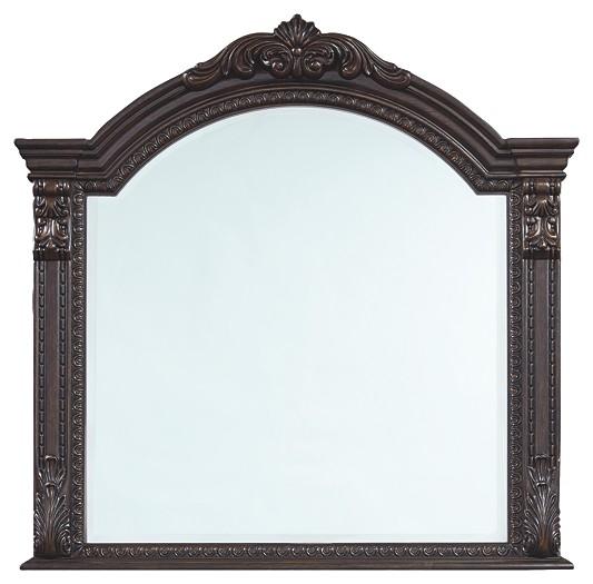 Wellsbrook - Dark Brown - Bedroom Mirror