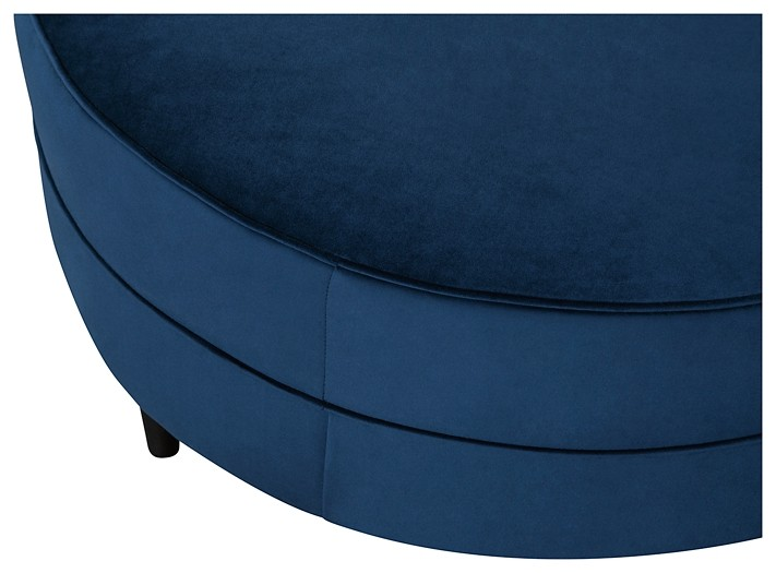 Super Enderlin Ink Oversized Accent Ottoman Bralicious Painted Fabric Chair Ideas Braliciousco