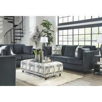 Kennewick - Shadow - Oversized Accent Ottoman
