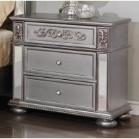 Diana Silver Night Stand