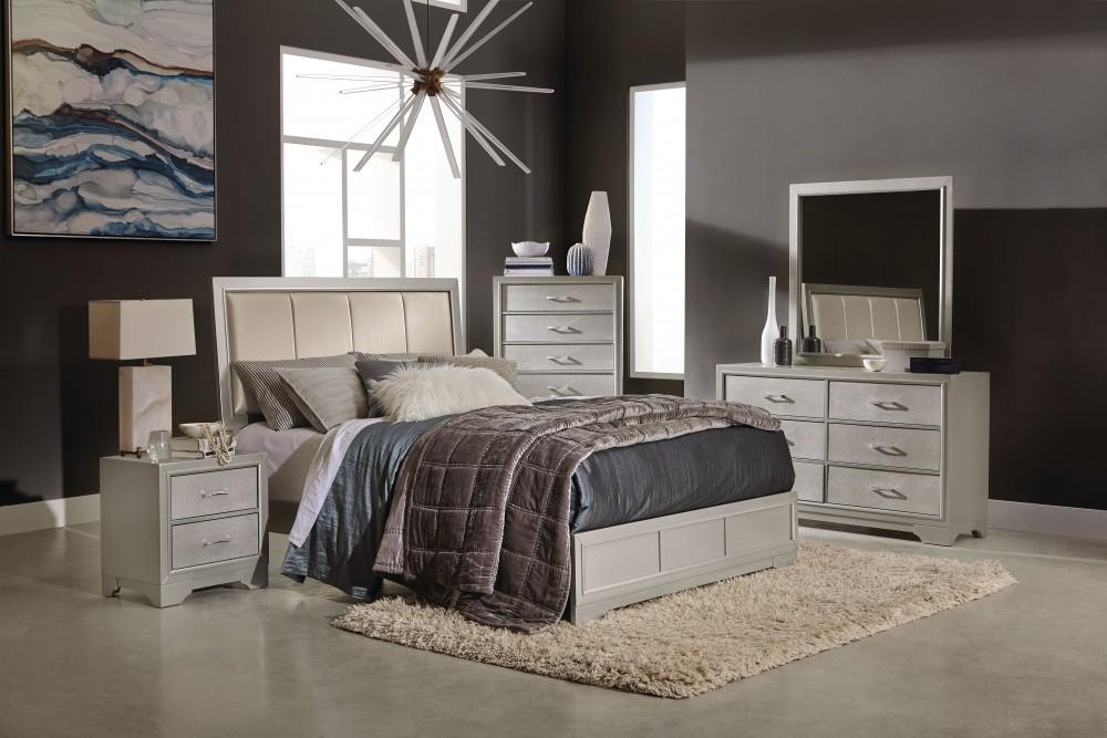 Danny Bedroom Dresser Mirror Queen Bed