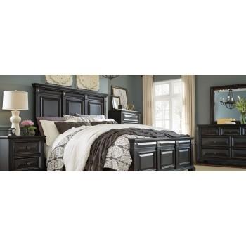 Passages Bedroom Queen bed, dresser/mirror, nightstand