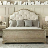 Vintage Brownstone Upholstered Bed