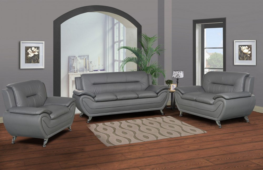 Sofa and Loveseat set with FREE Chair