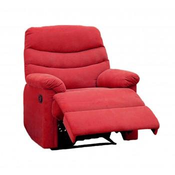 Comfort Red Microfiber Recliner