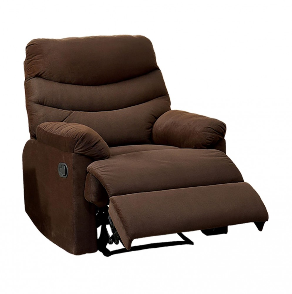 Comfort Brown Microfiber Recliner U700 Brown Micro