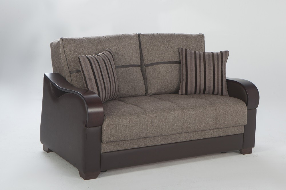 Astonishing Istikbal Bennett Redeyef Brown Sofa Loveseat Armchair Pabps2019 Chair Design Images Pabps2019Com