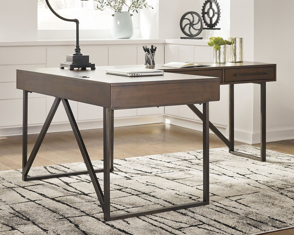 Starmore - 2-Piece Home Office Desk