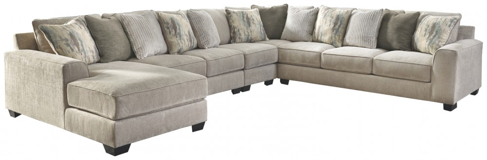 Ardsley - 5-Piece Sectional with Chaise | 39504S7/16/34/46 ...