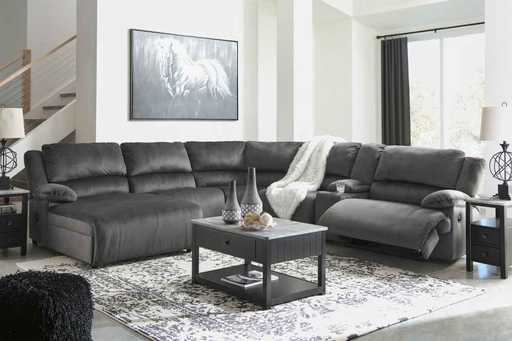 Clonmel 6-Piece Reclining Sectional with Power