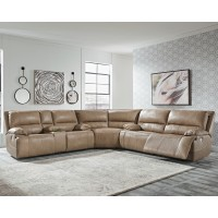 Ricmen - 3-Piece Power Reclining Sectional