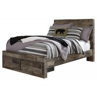 Derekson - Derekson Full Panel Bed with Storage