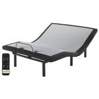 12 Inch Ashley Hybrid - Queen Adjustable Base and Mattress