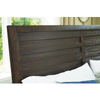 Darbry - Darbry California King Panel Bed with Storage