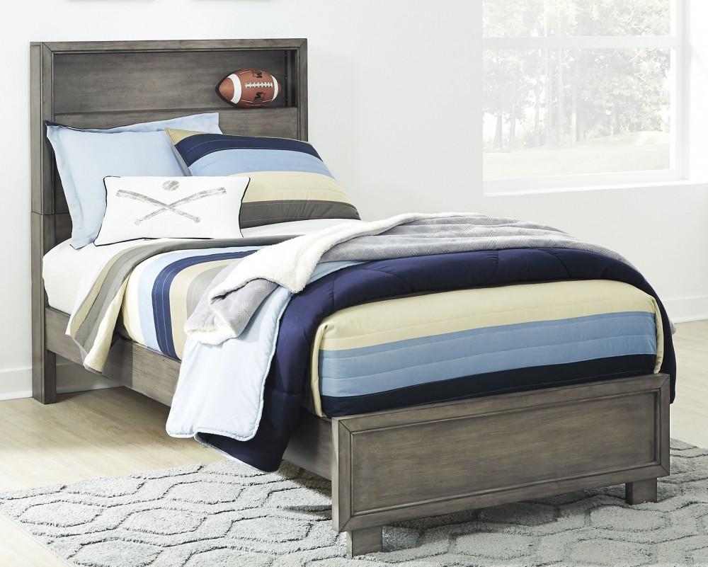 Arnett - Full Bookcase Bed
