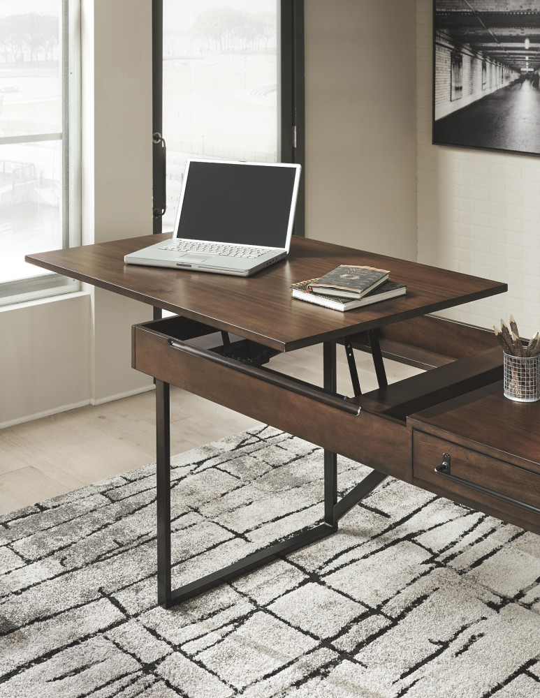 Starmore - Starmore Home Office Desk with Return