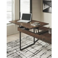 Starmore - Starmore 2-Piece Home Office Lift Top Desk