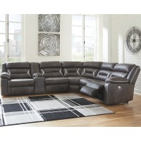 Kincord - Kincord 4-Piece Reclining Sectional with Power